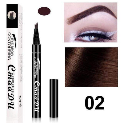 La Belle Sophie 2 UP 1 Eyebrow Pen Eye Makeup Microblading Tattoo