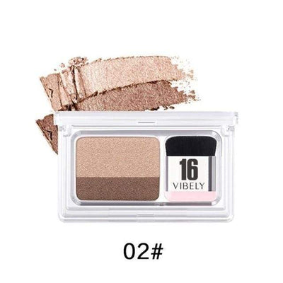 La Belle Sophie 2 UP1 Double Color Eyeshadow Palette