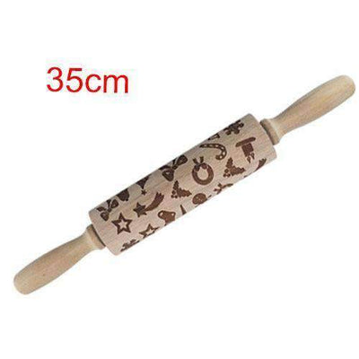 La Belle Sophie 35cm gift Christmas Embossing Rolling Pin