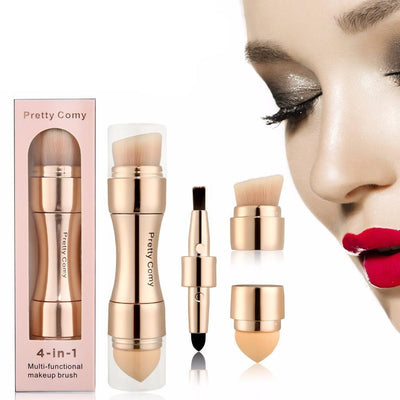 La Belle Sophie 4 In 1 Makeup Tool Foundation Eyebrow Eyeliner Blush Powder
