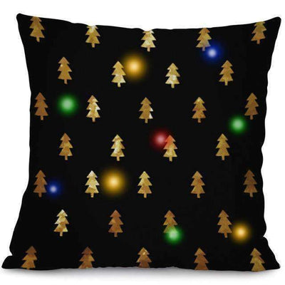 La Belle Sophie 45x45cm / 3 LED Lights Christmas Pillow Cover