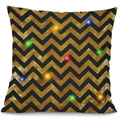 La Belle Sophie 45x45cm / 4 LED Lights Christmas Pillow Cover