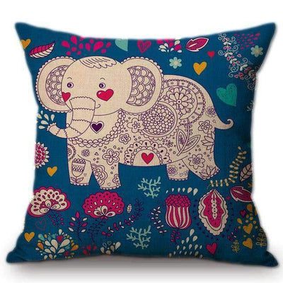 La Belle Sophie 5 / No filling Pillows For babies whale crab elephant lion