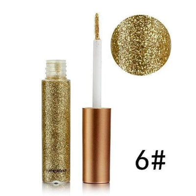 La Belle Sophie 6 UP 2 Eyeliner Eyeshadow Long Lasting