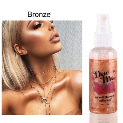 La Belle Sophie A4 Bronzer Highlighter Liquid Spray
