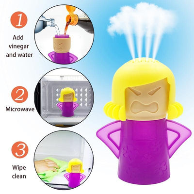 La Belle Sophie Angry Mama Blue Angry Mama Microwave Cleaner