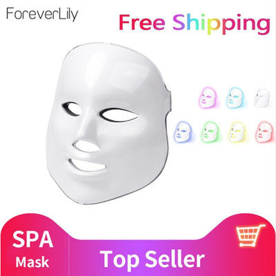 La Belle Sophie AU Plug no box 7 Colors LED Facial Mask