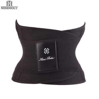 La Belle Sophie Black / L / United States UP2 Xtreme Power Belt Hot Slimming Body Shaper