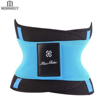 La Belle Sophie Blue / L / United States Xtreme Power Belt Hot Slimming Body Shaper