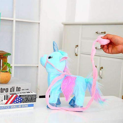 La Belle Sophie Blue -Magic Walking Unicorn-