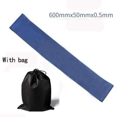 La Belle Sophie Blue with BAG Resistance Bands Yoga Strength