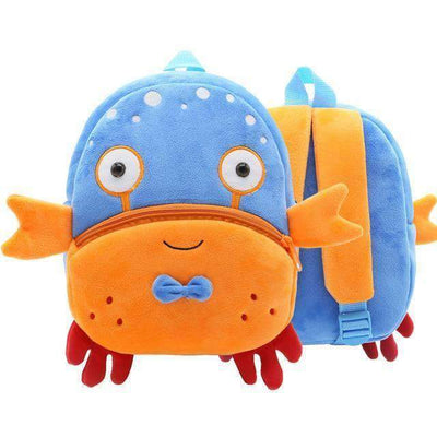 La Belle Sophie Crab -Backpack Rainbow Unicorn-