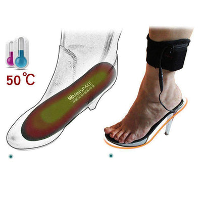 La Belle Sophie EU Plug USB Heating Insoles