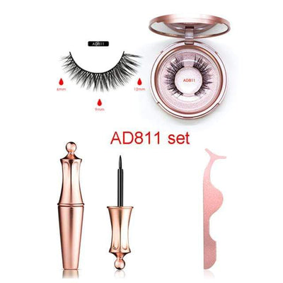 La Belle Sophie EY-AD811 Magnetic Eyelashes Kit Long Lasting Waterproof