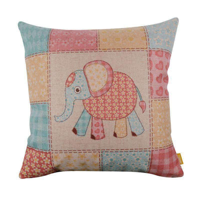 La Belle Sophie Flower Elephant Animal Cute Linen