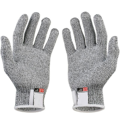 La Belle Sophie gray / L Anti-cut Gloves