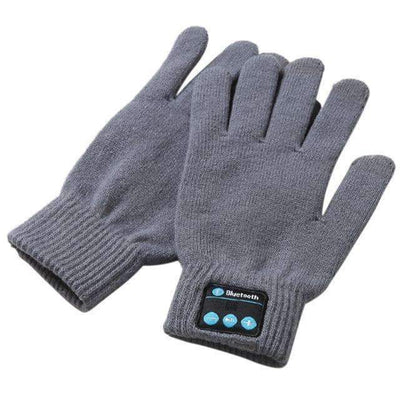 La Belle Sophie Gray / One Size Talk to the Hand Bluetooth Winter Gloves. Smart Phone