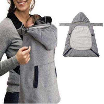 La Belle Sophie Gray Wrap Sling Baby Carrier