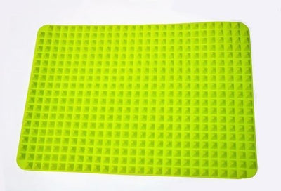 La Belle Sophie Green 40x27cm Pyramid Bakeware Pan 4 color Nonstick Silicone Baking Mats Pads Moulds Cooking Mat Oven Baking Tray Sheet Kitchen Tools