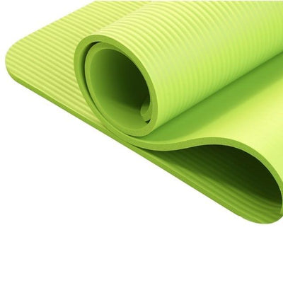 La Belle Sophie Green Extra Thick Yoga Mat