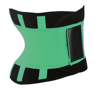 La Belle Sophie Green / M Xtreme Power Belt Hot Slimming Body Shaper