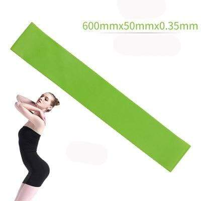 La Belle Sophie Green Resistance Bands Yoga Strength