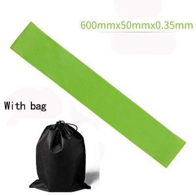 La Belle Sophie Green with BAG Resistance Bands Yoga Strength