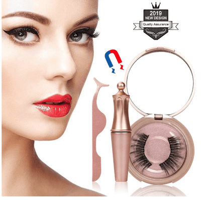 La Belle Sophie Magnetic Eyelashes Kit Long Lasting Waterproof