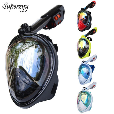 La Belle Sophie N01 / S/M Full Face Snorkeling Masks Panoramic View