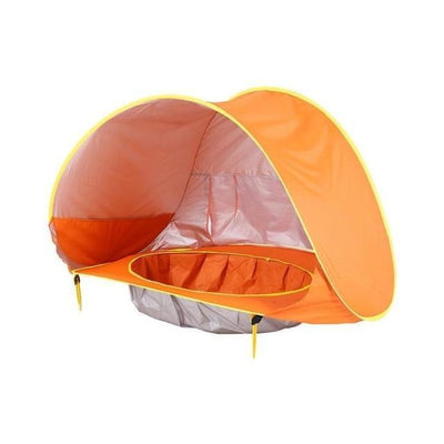 La Belle Sophie Orange Dw Beach Ten with a Pool and UV Protection