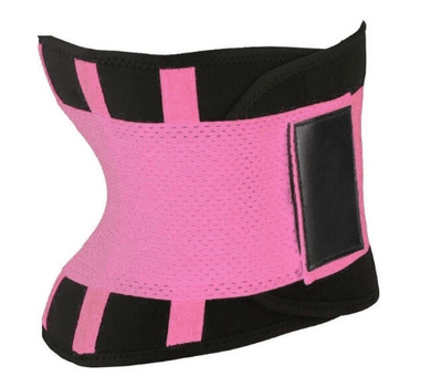 La Belle Sophie Pink / M Xtreme Power Belt Hot Slimming Body Shaper