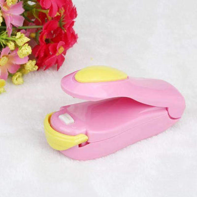 La Belle Sophie Pink Up1 Mini Heat Sealer