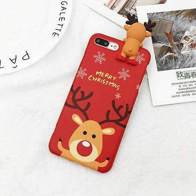 La Belle Sophie Red / For iPhone 6 6S Xmas Phone Case For iPhone
