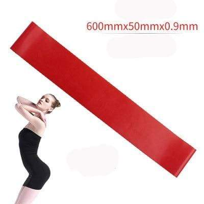 La Belle Sophie Red Resistance Bands Yoga Strength