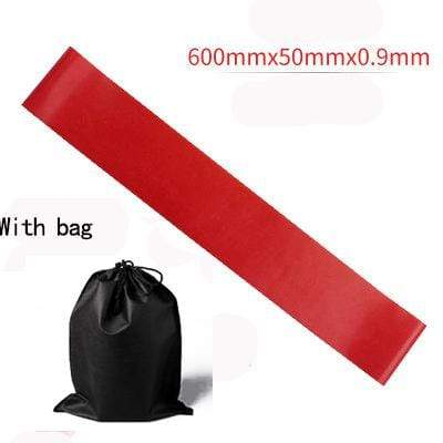 La Belle Sophie Red with BAG Resistance Bands Yoga Strength