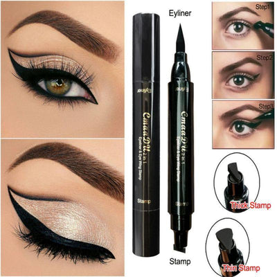 La Belle Sophie Thick Stamp Sexy Eye Makeup Double Head Eyeliner