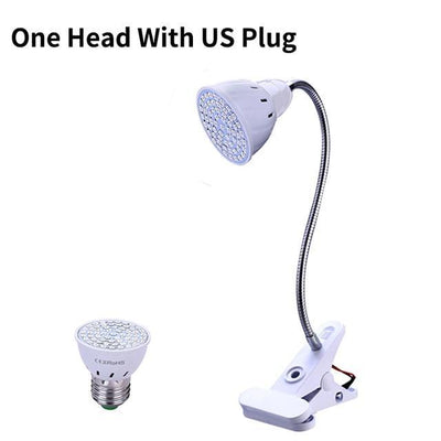 La Belle Sophie US Plug / 200LEDs LED Grow light Full Spectrum Phyto Lamp Hydroponics Fitolamp With Clip For Vegetable Flower Seedings Greenhouse Plant Lighting