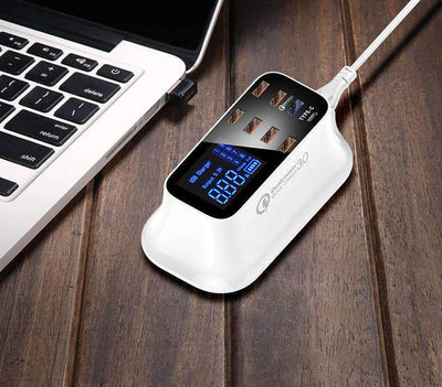 La Belle Sophie US Plug Quick Charge Smart USB Charger Station