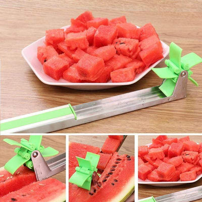 La Belle Sophie Watermelon Cutter Stainless Steel
