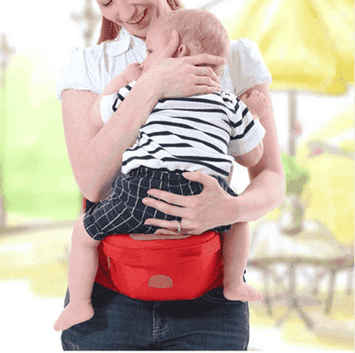 La Belle Sophie white / OneSize Baby Hip-Waist Carrier