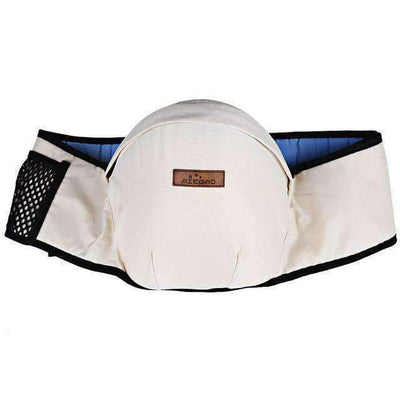 La Belle Sophie white / OneSize DW Baby Hip-Waist Carrier