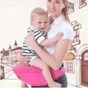 La Belle Sophie white / OneSize UP1 Baby Hip-Waist Carrier