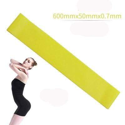 La Belle Sophie Yellow Resistance Bands Yoga Strength