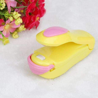 La Belle Sophie Yellow Up1 Mini Heat Sealer
