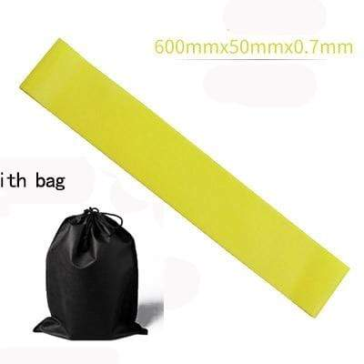 La Belle Sophie Yellow with BAG Resistance Bands Yoga Strength