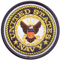 US Navy Emblem Patch (1590) / Morale Patch - Iceberg Army Navy