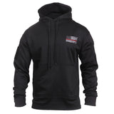 Rothco Concealed Carry Sweatshirt Black Red Lines (2066)
