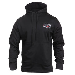 Rothco Concealed Carry Sweatshirt Black Red Lines (2066) / Sweatshirts - Iceberg Army Navy