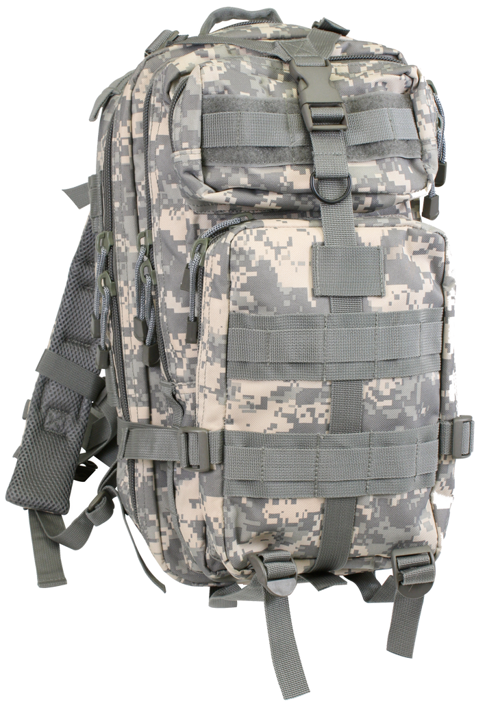 medium transport pack backpack tactical military style acu camo rothco 2288