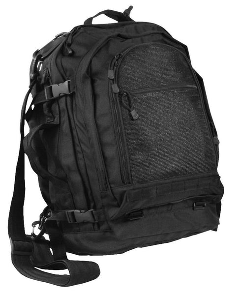 Rothco Move Out Travel Pack Black (2299) / Bagpacks - Iceberg Army Navy